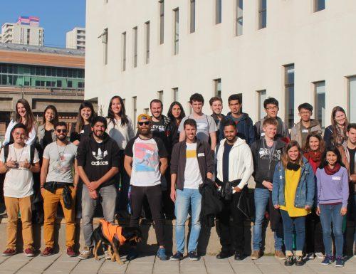 USM da la bienvenida a nuevos estudiantes de intercambio en San Joaquín