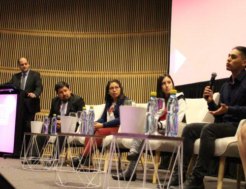 Estudiante universitario PACE USM cuenta su experiencia en encuentro internacional en Santiago