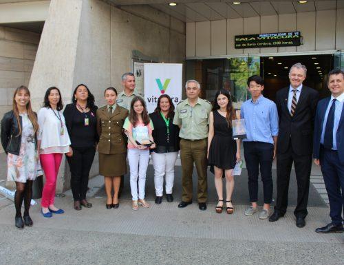 Realizan festival escolar de canto en Vitacura con apoyo de la USM