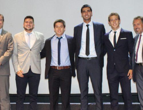 DEFIDER premió a sus deportistas destacados de San Joaquín y Vitacura