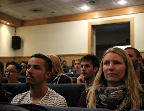Rector USM se reúne con alumnos extranjeros y sansanos que viajarán de intercambio