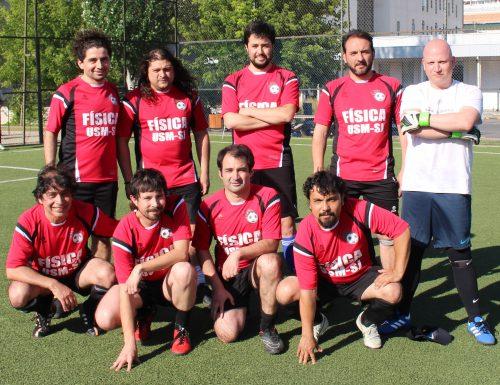 Personal de la USM disfrutó de Campeonato de Futbolito desarrollado en San Joaquín