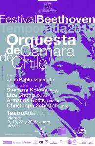 Afiche Festival Beethoven.