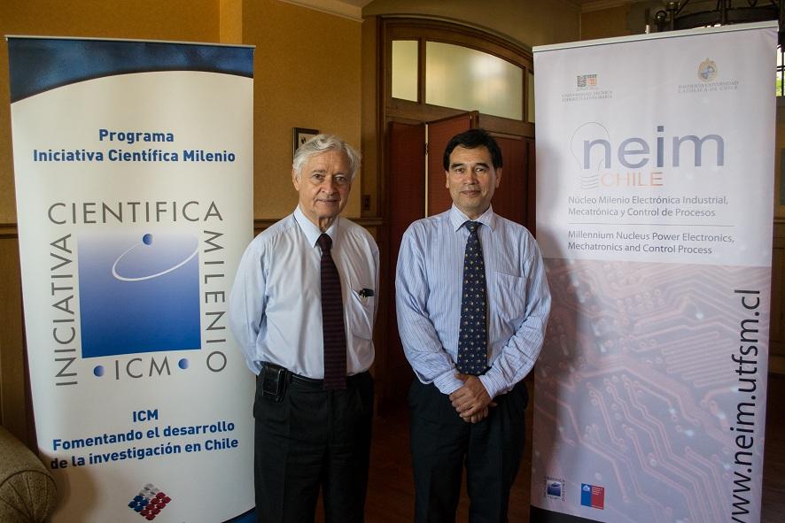 Director ejecutivo del Programa Científico Milenio visita la USM ...